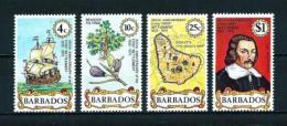 Barbados  Nº Yvert  405/8  En Nuevo - Barbados (1966-...)