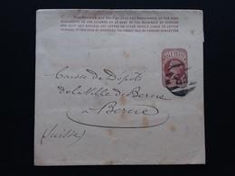 GRAN BRETAGNA 1893 - Fascetta Giornali Spedita In Svizzera Con Annullo Arrivo + Spese Postali - 1840-1901 (Regina Victoria)
