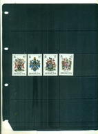 BERMUDES ARMOIRIES II 4 VAL  NEUFS A PARTIR DE 0.75 EUROS - Bermuda