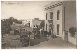 3 Medenine La Poste  Autos Autobus - Tunisie