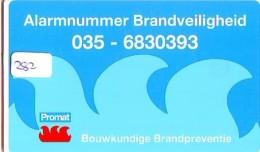 NEDERLAND CHIP TELEFOONKAART CRE 282 * Promat  * Telecarte A PUCE PAYS-BAS * ONGEBRUIKT MINT - Netherlands
