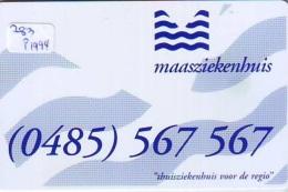 NEDERLAND CHIP TELEFOONKAART CRE 283 1994 * Maasziekenhuis  * Telecarte A PUCE PAYS-BAS * ONGEBRUIKT MINT - Netherlands