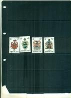 BERMUDES ARMOIRIES I  4 VAL NEUFS A PARTIR DE 0.80 EUROS - Bermuda