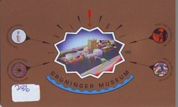 NEDERLAND CHIP TELEFOONKAART CRE 286 * Groninger Museum  * Telecarte A PUCE PAYS-BAS * ONGEBRUIKT MINT - Netherlands