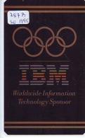 NEDERLAND CHIP TELEFOONKAART CRE 287b So * IBM  Worldwide Inf. Technology  * Telecarte A PUCE PAYS-BAS * ONGEBRUIKT MINT - Netherlands