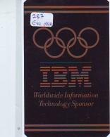 NEDERLAND CHIP TELEFOONKAART CRE 287 Eso 94  IBM  Worldwide Inf. Technology Telecarte A PUCE PAYS-BAS * ONGEBRUIKT MINT - Netherlands