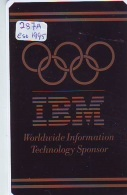 NEDERLAND CHIP TELEFOONKAART CRE 287 Eso 95  IBM  Worldwide Inf. Technology Telecarte A PUCE PAYS-BAS * ONGEBRUIKT MINT - Netherlands