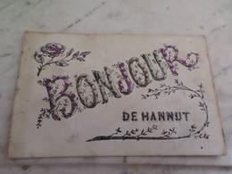 Hannut, Bonjour  En 1908 - Hannut