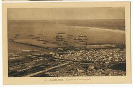 Casablanca Le Port Vu D' Avion 1920  Edit Flandrin - Casablanca