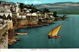 Palestine Tiberias From The Lake (édition Meguerditchian, Nazareth - Palestine