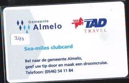 NEDERLAND CHIP TELEFOONKAART CRE 293 * Gemeente Almelo *  Telecarte A PUCE PAYS-BAS * ONGEBRUIKT MINT - Netherlands