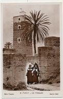 Tiznit Real Photo Edit Flandrin  La Mosquée Femmes En Costume - Morocco