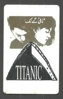 PAKISTAN  USED CHIP PHONECARD TELECARD 150 UNITS TITANIC - Pakistan