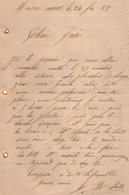 VP12.440 - Lettre De Mr E. ROBERT à MAISON - NEUVE - Manuscripts