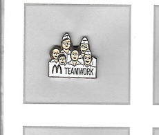Pin's  MAC  DO  TEAMWORK - McDonald's