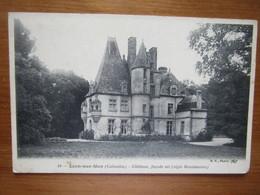 Lion Sur Mer. Chateau, Facade Est. B.F. 18 Postmarked 1916. - Otros Municipios