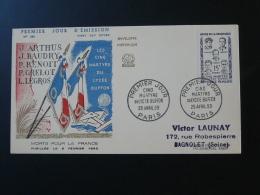 FDC Héros De La Résistance Martyrs Du Lycée Buffon Paris 1959 - 2. Weltkrieg