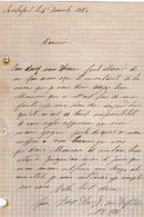 VP12.442 - Lettre De Mr ? à ROCHEFORT - Manuscripts