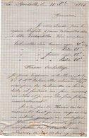 VP12.443 - Lettre De Mr DENIS Sabotier à LA ROCHELLE - Manuscripts