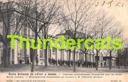 CPA  ECOLE MOYENNE DE L'ETAT A FOSSES - Fosses-la-Ville
