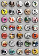 Chuck Berry Music Fan ART BADGE BUTTON PIN SET (1inch/25mm Diameter) 35 DIFF - Music