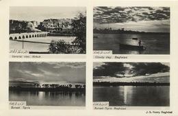 317 - 1933 Overview Iraq Bagdad Tigris Kirkuk - TRAVELLED - Iraq