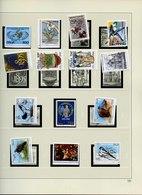 1995-2001 - COLLEZIONE ITALIA NUOVA SU FOGLI SAFE CON CARTELLA SAFE - UNIF 2170/2614 - Colecciones (en álbumes)