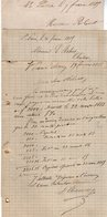 VP12.446 - 3 Lettres De Mrs BENONI & ? à SAINT - PIERRE D'OLERON - Manuscripts