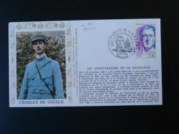 FDC  General De Gaulle Lille 1990 - De Gaulle (Général)