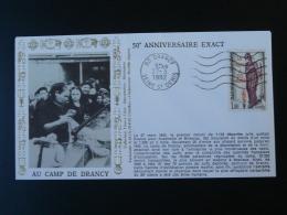 FDC Ed. AMIS Camp De Drancy Déportation Des Juifs Judaica 1992 - 2. Weltkrieg