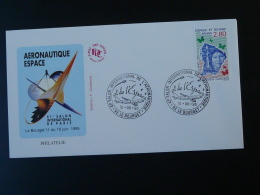 FDC Salon Espace Aeronautique Le Bourget 1995 - FDC & Commémoratifs