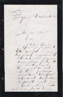 VP12.447 - MILITARIA - BAYONNE - Lettre Du Soldat ROBERT Au 49 ème De Ligne ...détaché Au Fort De Socoa CIBOURE ? - Documents