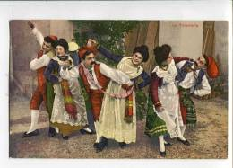 3031406 ITALIA Dance TARANTELLA Dancers Vintage PC - Ethnics