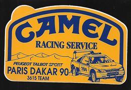 Autocollant Camel Paris Dakar 1990 Racing Service - Voitures (Courses)