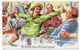 """Illustrateur  P. Ordner-- Humour---1967--""""Et Il était....que ça ! """"---pêcheur,bistrot --cachet BRAY SUR SEINE -77 - Ordner, P."""