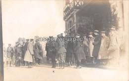 CARTE PHOTO ALLEMANDE SPA  1918   COMMISSION D'ARMISTICE    GENERAL BRITANNIQUE  HAKING - Spa