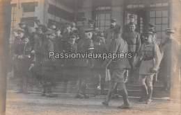 CARTE PHOTO ALLEMANDE SPA  1918   COMMISSION D'ARMISTICE    GENERAUX ALLIES - Spa