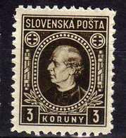 Slowakei / Slovakia, 1939, Mi 42 Y B * [210618XVII] - Ungebraucht
