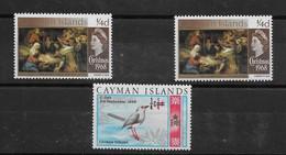 Lot De Timbres Des ILES CAÏMAN Années 1968 Et 1969 ** TTBE - Cayman Islands