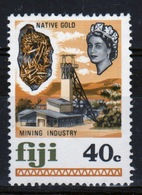 Fiji 1969 Definitive 40c Stamp In Mounted Mint Condition. - Fiji (...-1970)