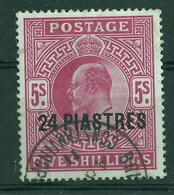 Britische Post In Der Türkei 12 Gest. - 1902-1951 (Re)