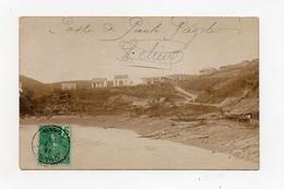 !!! INDOCHINE : CARTE PHOTO DU POSTE DE POINTE PAGODE DE 1908 - RR - Viêt-Nam