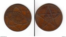 MAROC  10 Mazunas 1912  AH 1330  Morocco - Morocco