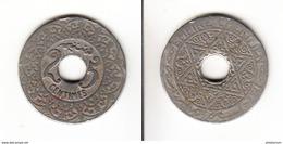 MAROC  25 Centimes Sans Date (1339 - 1920)  Paris - Morocco
