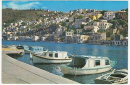 Symi - View Of The Port - (Greece) - Griekenland