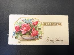 201 - BONNE ANNEE Bouquet De Fleur Dans Une Vasque - 1954 - Neujahr