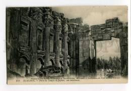 3034350 LEBANON BAALBECK Jupiter Temple Vintage PC - Lebanon