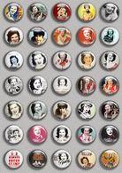 Patsy Cline Music Fan ART BADGE BUTTON PIN SET (1inch/25mm Diameter) 35 DIFF - Music