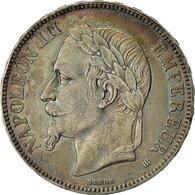 Monnaie, France, Napoléon III, 5 Francs, 1868, Strasbourg, TTB, Argent, Gad. 739 - France
