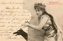 Albert Bergeret....ombromanie....no.6  La Coquette Et Le Loup - Bergeret